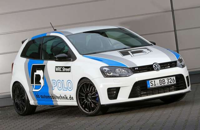 Eszement tuning a VW Polo R WRC Streetre