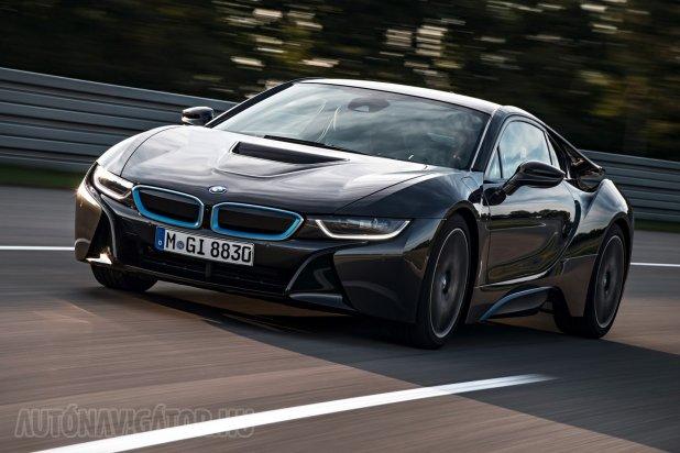 Áprilistól készül, júniusra ér a kereskedőkhöz a BMW i8