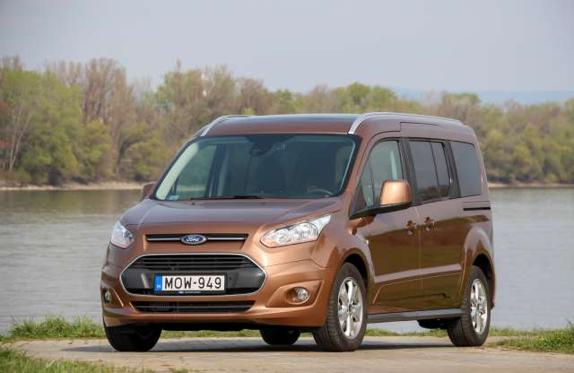 Ford Grand Tourneo Connect 1.6 TDCi teszt