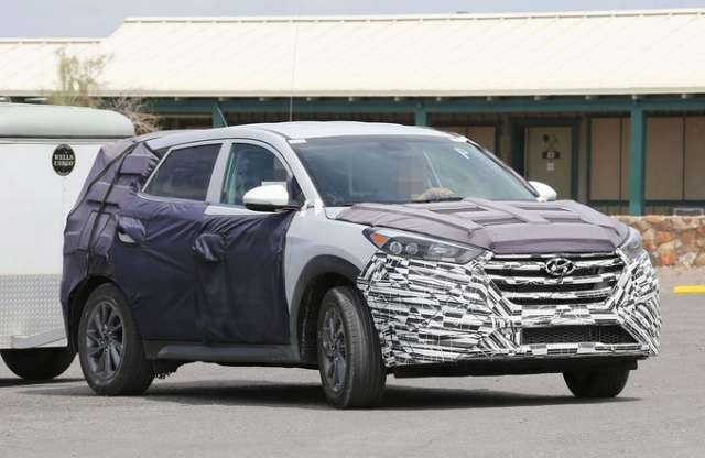 Már készül a második generációs Hyundai ix35, de még csak kémfotókon lehet megnézni