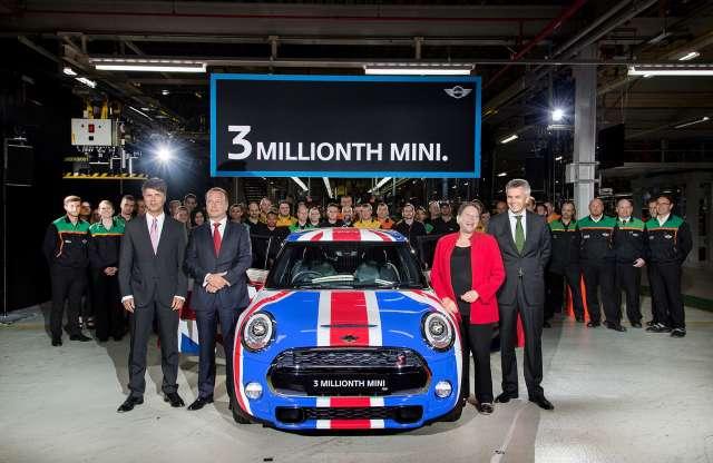 13 év alatt 3 millió készült a BMW-féle új Miniből