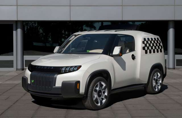 Új lehetőség a városi közlekedésre: Toyota Urban Utility Concept