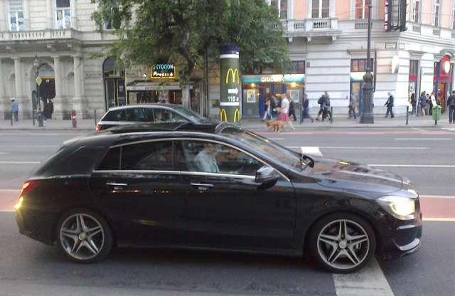 Budapesten is feltűnt a kecskeméti Mercedes-Benz CLA Shooting Brake