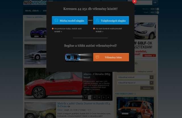 Megújult Használói vélemények - akkor is segít, ha nem tudja milyen autót keres