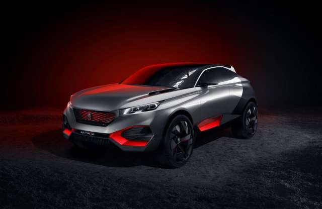 Szabadidő-autót hozhatnak a franciák, mutatnak is egy bátor koncepciót. Íme a Peugeot Quartz!