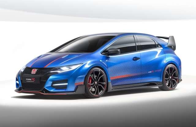 Itt a Honda Civic Type R Concept II