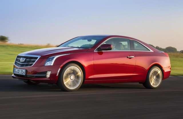 A Cadillac bemutatta az ATS kupé európai változatát