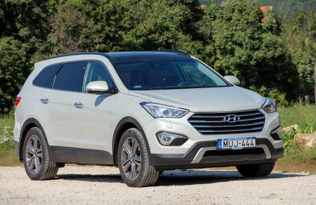 Hyundai Grand Santa Fe 2.2 CRDi Executive A/T teszt