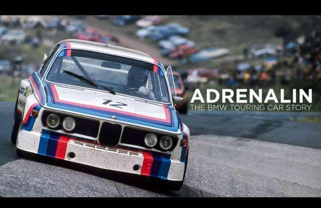 A BMW a régi túraautó-versenyek hangulatát idézi meg filmjében