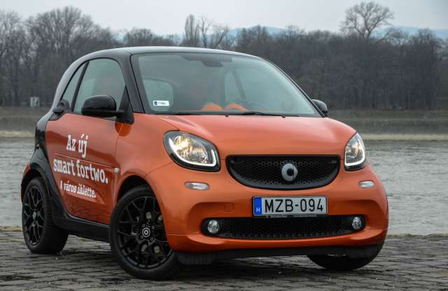 smart fortwo 1.0 Passion teszt
