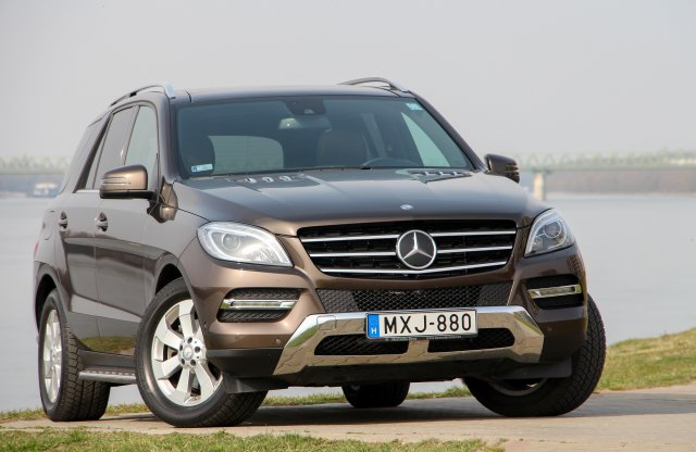Mercedes-Benz ML 350 BlueTEC teszt