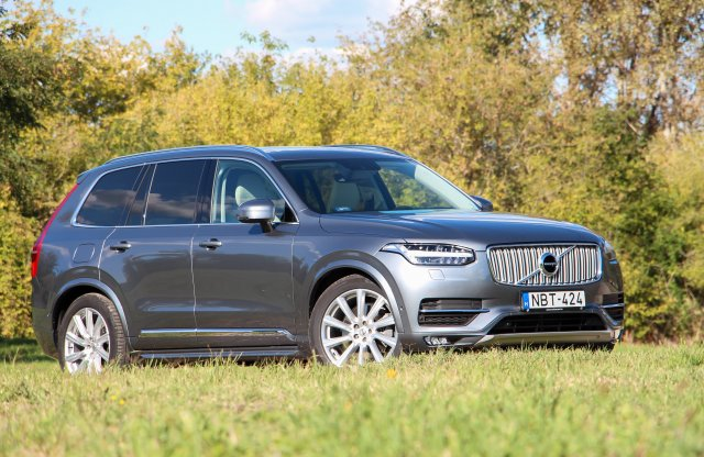 Volvo XC90 D5 AWD Inscription teszt