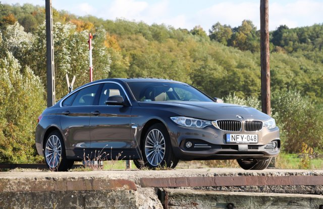 BMW 420d xDrive Steptronic Gran Coupé Luxury Line Individual teszt