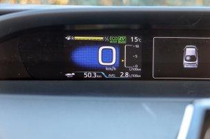 Katalógusérték szerint a 15 colos alapfelnivel 3, a 17 colossal 3,3 l/100km a vegyes fogyasztás. A nagyobbal szerelt tesztautóval spórolósan 2,8, higgadt hajtással 3,6 l/100 km átlag adódott. A fogyasztásra nem különösebben figyelve, a menetdinamikát is vallatva 4,6 literes országúti kört futottunk, autópályán persze 6 liter körüli az étvágy
