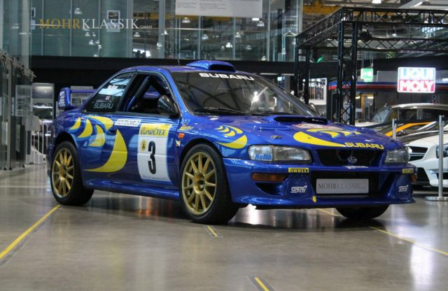 Te is megveheted Colin McRae 1997-es Subaru WRC-jét