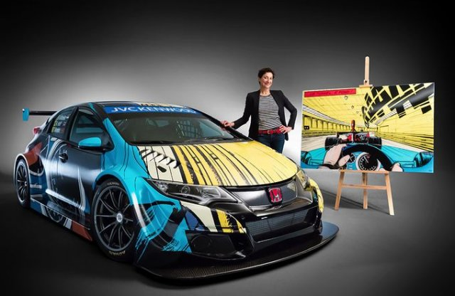 Honda Civic TC1 - az első WTCC-s Art Car
