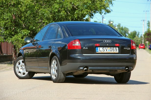 audi a6 2 5 v6 tdi quattro tiptronic 2003 haszn ltteszt aut navig. Black Bedroom Furniture Sets. Home Design Ideas