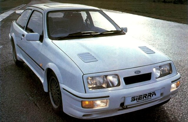 30 éves a Ford Sierra RS Cosworth