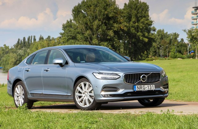 Volvo S90 D5 AWD Inscription teszt