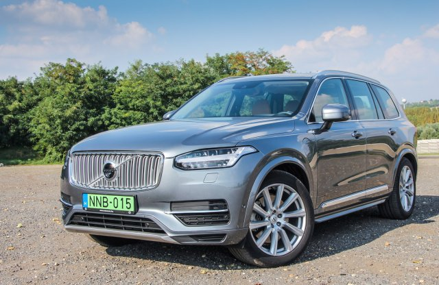 Volvo XC90 T8 Inscription teszt