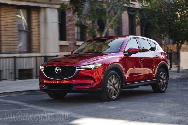 Elsősorban meglévő platformra kívánja építeni villanyautóját a Mazda, így akár az új CX-5-ből is készülhet elektromos modell