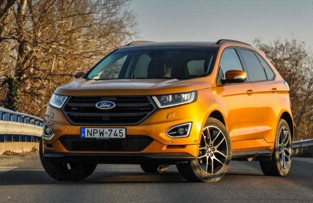 Ford Edge Sport Powershift teszt