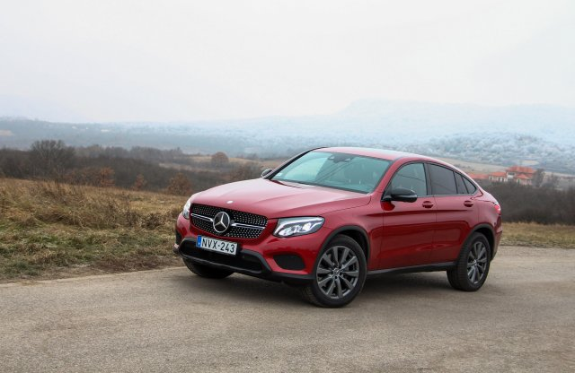 Mercedes-Benz GLC 220 d 4MATIC Coupé teszt