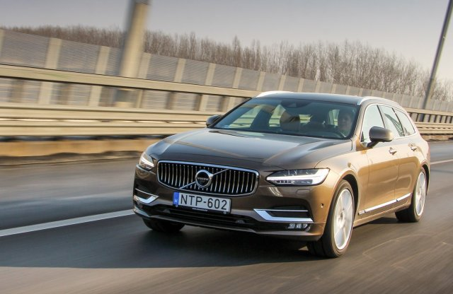 Volvo V90 Inscription D5 AWD teszt