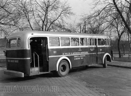 GF-901, az első Budapesten forgalomba helyezett Ikarus 60