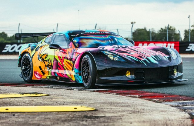 Le Mans 2017: BMW M6 GT3 és Chevrolet Corvette Art Car