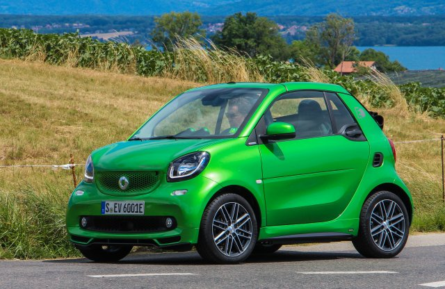 smart fortwo cabrio electric drive menetpróba
