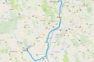 A Velencei-tóra is vezet alternatív út, ha beállna az M7-es és a 7-es is. Pest megyei matricával az M7-re Martonvásárnál, az M6-ra pedig Ráckeresztúrnál hajthatunk fel