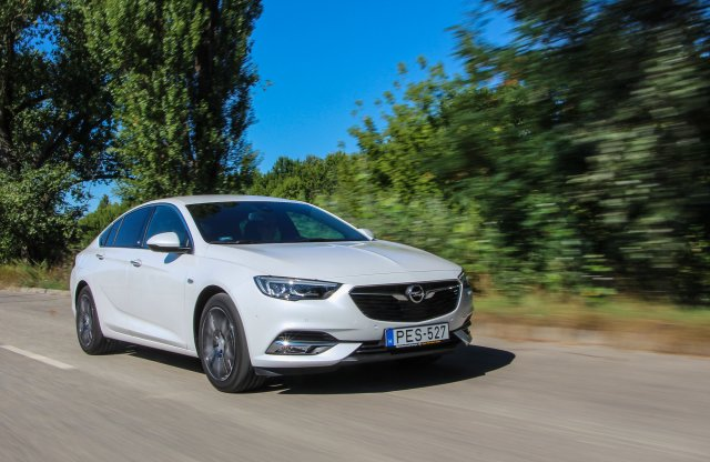 Opel Insignia Grand Sport 1.6 CDTI Innovation teszt