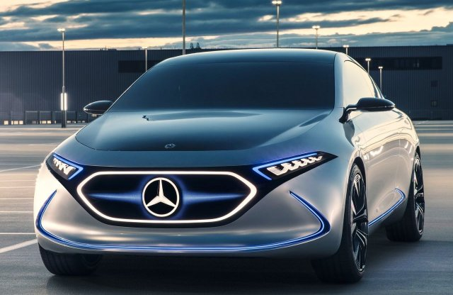 Mercedes Concept EQA - vele nyomnák le a Tesla Model 3-at