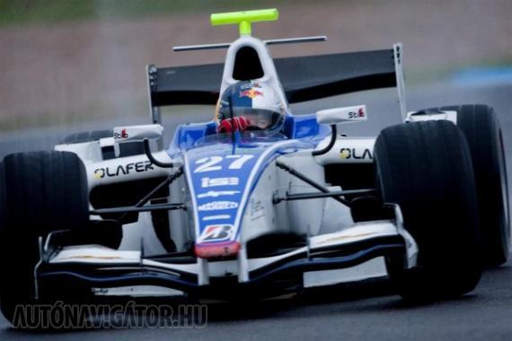 Loeb érzései javultak a GP2-es autóban