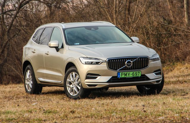 Volvo XC60 T8 hibrid Inscription teszt