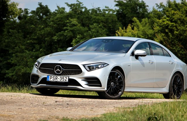 Mercedes-Benz CLS 400 d 4Matic Edition 1 teszt