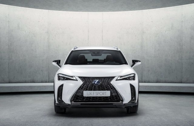 Goodwoodban a Lexus UX is mozgásba lendül
