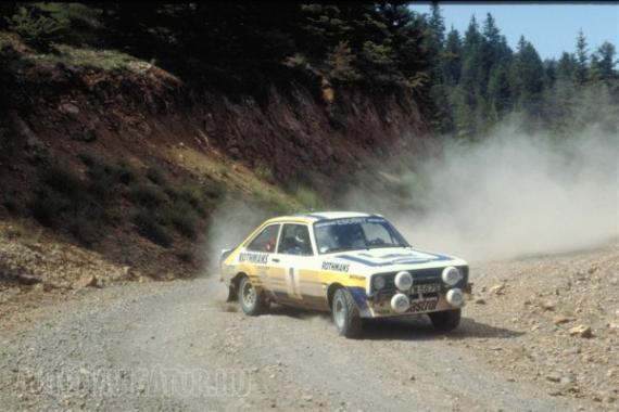 Björn Waldegaard 1979-ben szerezte az első egyéni világbajnoki címet a Fordnak