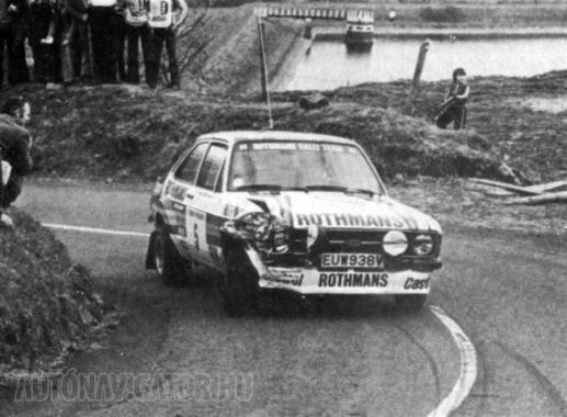 Vatanen nem nagyon kímélte az autót