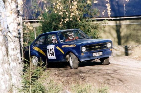 A Ford mai első számú versenyzője, Mikko Hirvonen is egy Mk 2-es volánjánál kezdte pályafutását