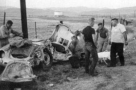James Dean pörgött és a halálba sietett