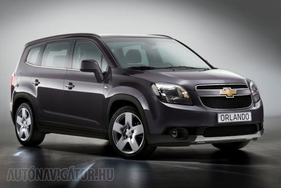 Íme a Chevrolet kompakt buszlimuzinja a maga teljes szépségében