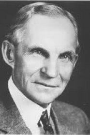 Henry Fordnak nem csak az autózásról, az autóversenyzésről is megvolt a véleménye