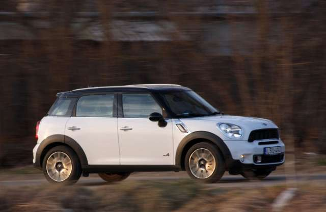 MINI Countryman Cooper S All4 teszt