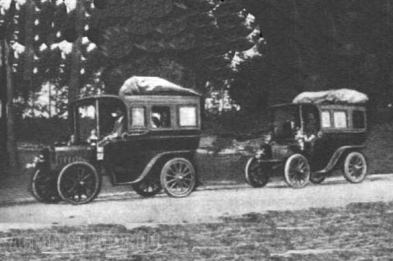 Romanowski omnibuszok a múlt század fordulójáról