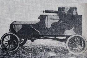 Tadeusz Tanski páncélozott járműve