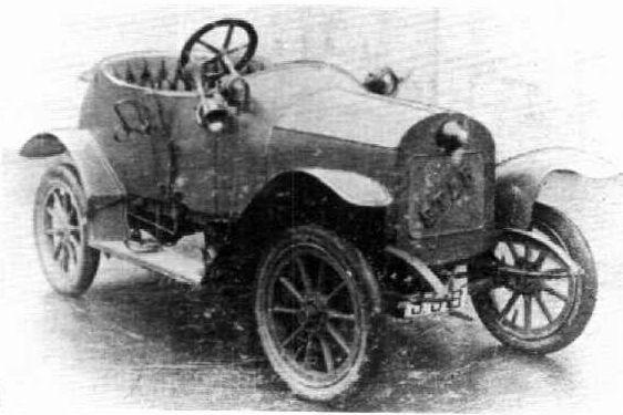 STAR kisautó 1912-ből − hasonlít a magyar Csonka-féle autóhoz