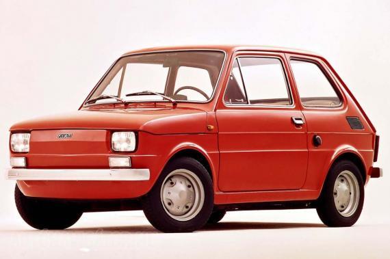 Polski Fiat 126p? Nem, a fehér index árulkodik, hogy ez eredeti olasz verzió