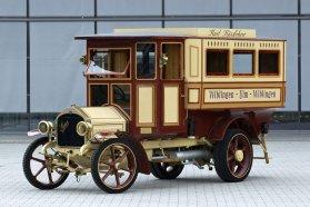 1911-ben már célirányosan autóbusznak, vagy ha úgy tetszik, akkor motoros társaskocsinak épült a Wiblingen Wagen
